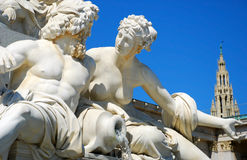 statue Vienne d'Athéna Image libre de droits