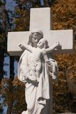 Statue Vierge Marie et de Jésus-Christ Photo libre de droits
