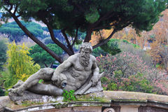 Statue in Villa Celimontana Royalty Free Stock Photography