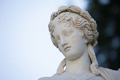 Statue, Villa Melzi, Lake Como Royalty Free Stock Photos