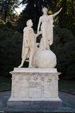 Statue, Villa Melzi, Lake Como Royalty Free Stock Photo