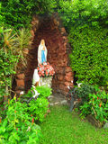 The statue of Virgin Mary Stock Photo