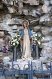 Statue of the Virgin Mary Royalty Free Stock Photos