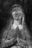 Statue Of Virgin Mary (antique statue, religion) Royalty Free Stock Image
