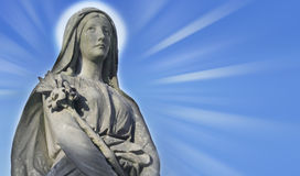 Statue Of Virgin Mary Royalty Free Stock Photo