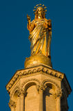 Statue of Virgin Mary. Avignon, France Royalty Free Stock Photography