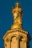 Statue of Virgin Mary. Avignon, France Royalty Free Stock Photography