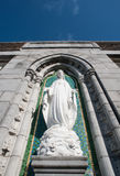 Statue of Virgin Mary Royalty Free Stock Photos