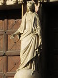 Statue of the Virgin Mary Stock Photos