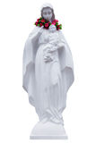 The statue of Virgin Mary and Jesus boy Royalty Free Stock Photo