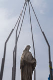Statue of Virgin Mary Stock Photography