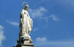 Statue of Virgin Mary (Mother of God) Royalty Free Stock Photography