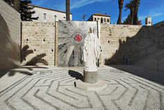The statue of the Virgin Mary, Nazareth Royalty Free Stock Image