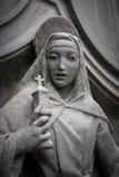 Statue of Virgin Mary stock photos