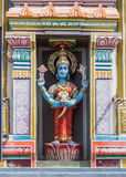 Statue of Vishnu-Durga. Stock Photo