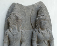 The Statue of Vishnu and Lakshmi Stock Photography