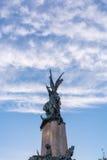 Statue in Vitoria Gasteiz Lizenzfreies Stockfoto