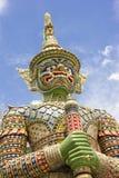 Statue vitrée de géant de tuile Image libre de droits