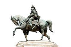 Statue of Vittorio Emanuele II Stock Images