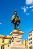Statue of Vittorio Emanuele II in Pisa Royalty Free Stock Photo