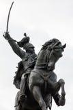 Statue of Vittorio Emanuele II in Venice, Italy Royalty Free Stock Photo