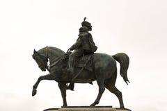 Statue Vittorio Emmanuele lokalisierte Lizenzfreie Stockfotografie