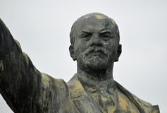 Lenin 9 Memento Park Budapest Hungary. Statue of Vladimir Ilyich Ulyanov or Lenin. Russian revolutionary, politician, and political theorist. He served as head stock image