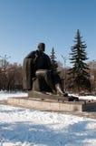 Statue of Vladimir Lenin in Abakan, Stock Image