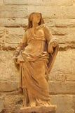 Statue vom Luftschlitz stockbild