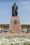 Statue von Abai Kunanbaev Stockbilder