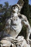 Statue von Achill innerhalb des Achilleions-Gebäudes Lizenzfreie Stockfotos