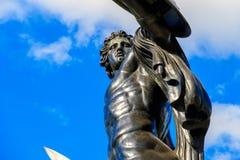 Statue von Achilles Lizenzfreies Stockbild