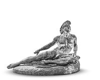Statue von Achilleus in Achillions-Palast Korfu Lizenzfreie Stockfotografie