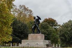 Statue von Achilleus bei Hyde Park in London Lizenzfreie Stockfotos
