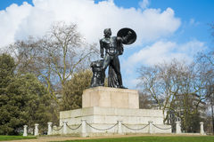 Statue von Achilleus in Hyde Park Stockfoto