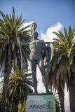 Statue von Achilleus in Korfu, Griechenland Lizenzfreies Stockbild