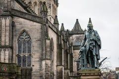 Statue von Adam Smith Lizenzfreies Stockbild