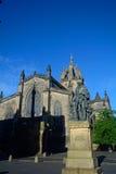 Statue von Adam Smith, Edinburgh, Schottland Lizenzfreie Stockbilder