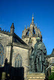 Statue von Adam Smith, Edinburgh, Schottland Stockbild
