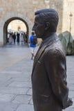 Statue von ¡ Adolfo Suà rez GonzÃ-¡ lez, Avila, Spanien Stockfoto