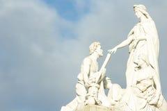 Statue von Albert Memorial Lizenzfreies Stockbild