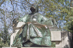 Statue von Anonymus Lizenzfreie Stockbilder