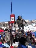 Statue von Billy Kidd Lizenzfreie Stockfotos
