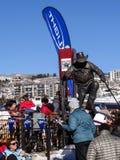 Statue von Billy Kidd Stockbild