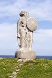 Statue von Breogan Stockfoto