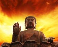Statue von Buddha Lizenzfreies Stockfoto