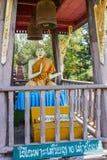 Statue von Buddha am Buppharam Tempel Lizenzfreie Stockfotos