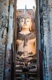 Statue von Buddha in Thailand stockbild