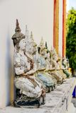 Statue von Buddha in Thailand, digitales Fotobild als Hintergrund stockbild