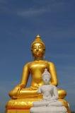 Statue von Buddhas stockfotos